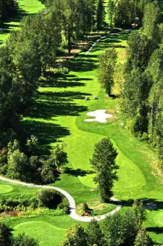 Pemberton Golf Ariel Photo