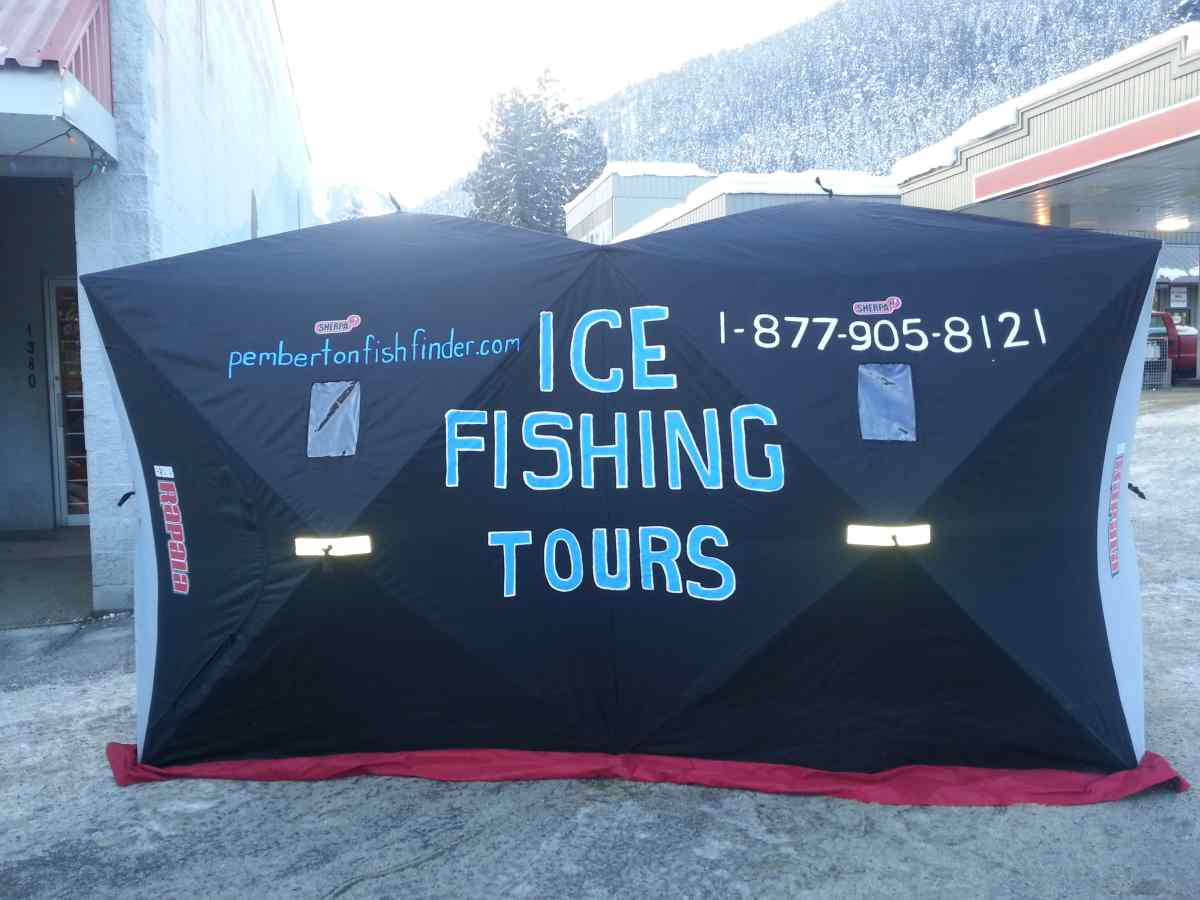 Ice Fishing Tours with Pemberton Fish Finder
