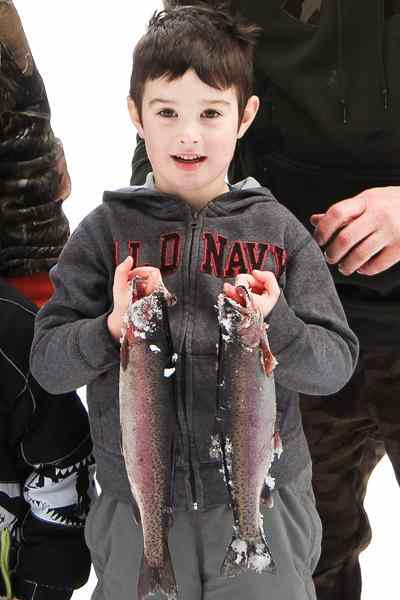 Pemberton Winter Festival Ice Fishing Derby