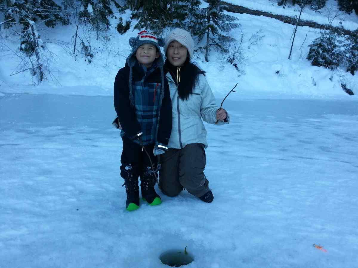 Pemberton winterfest ice fishing 11 bc fishing reports for Ice fishing reports