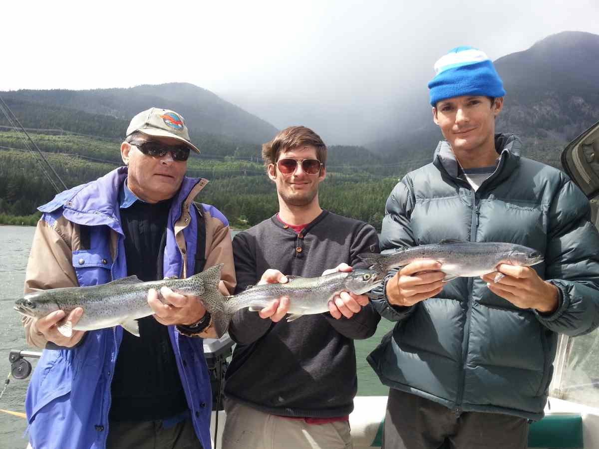 Fishing Around Whistler Trout For Dinner
