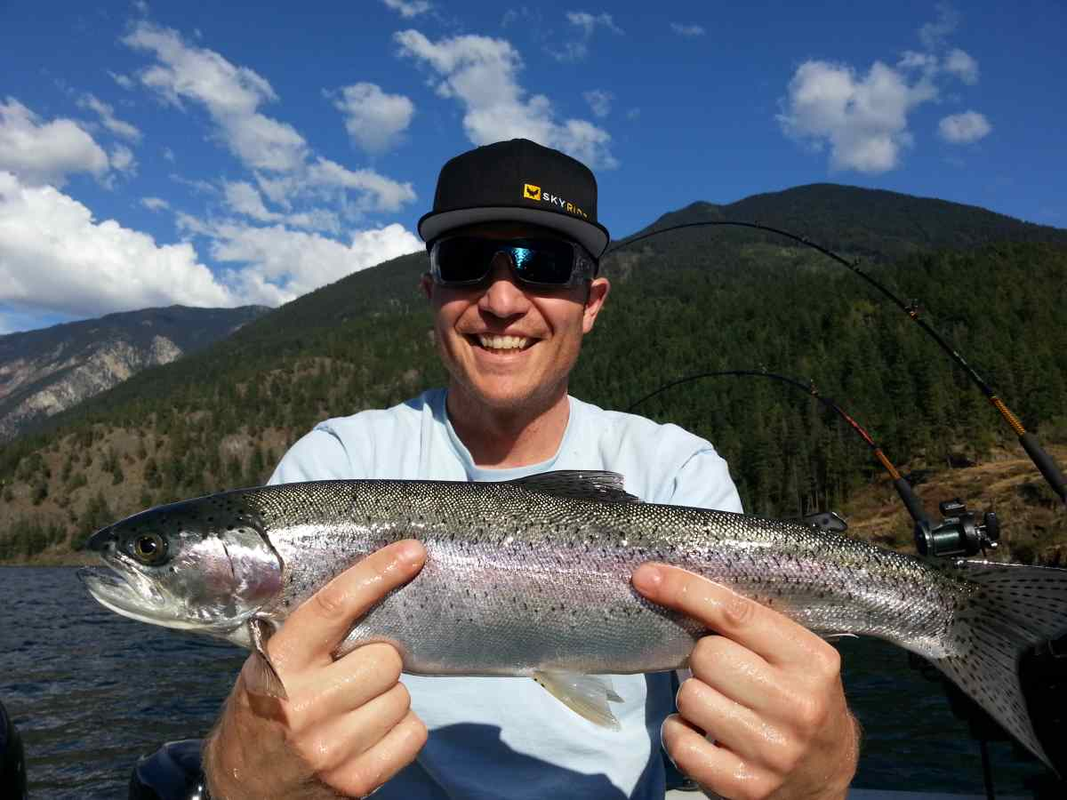 Fun kids fishing tours in whistler and pemberton bc canada for Rainbow trout fishing
