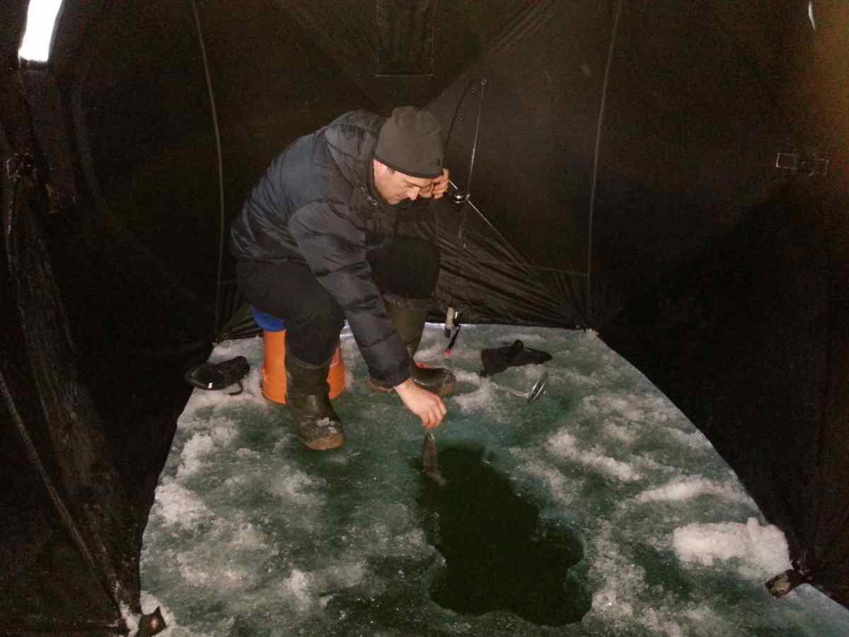 Ice fishing bc fishing reports pemberton fish finder for Ice fishing locators