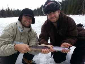 2014 Whistler British Columbia Ice Fishing Pictures