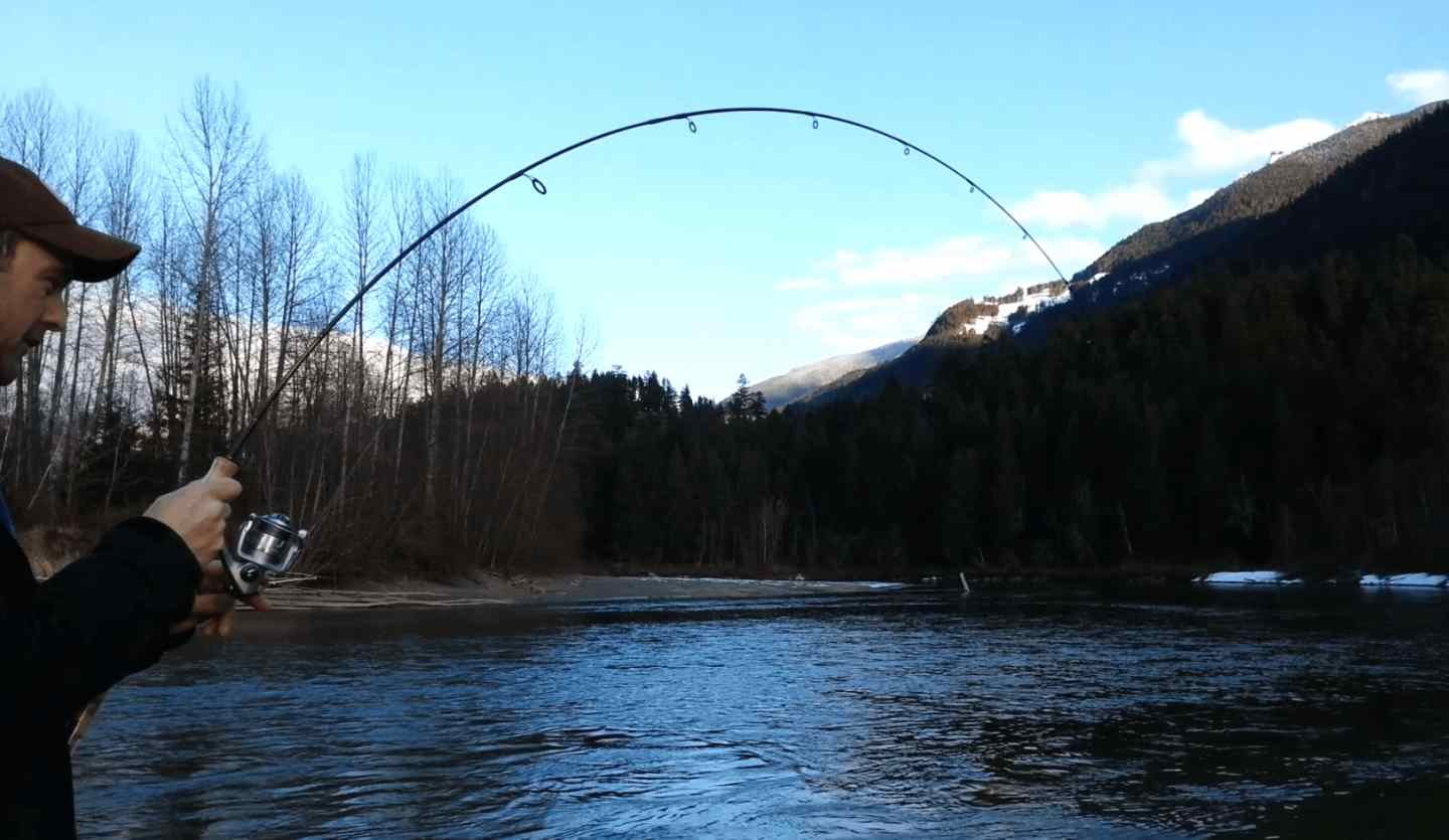 River Fishing Pemberton BC Canada