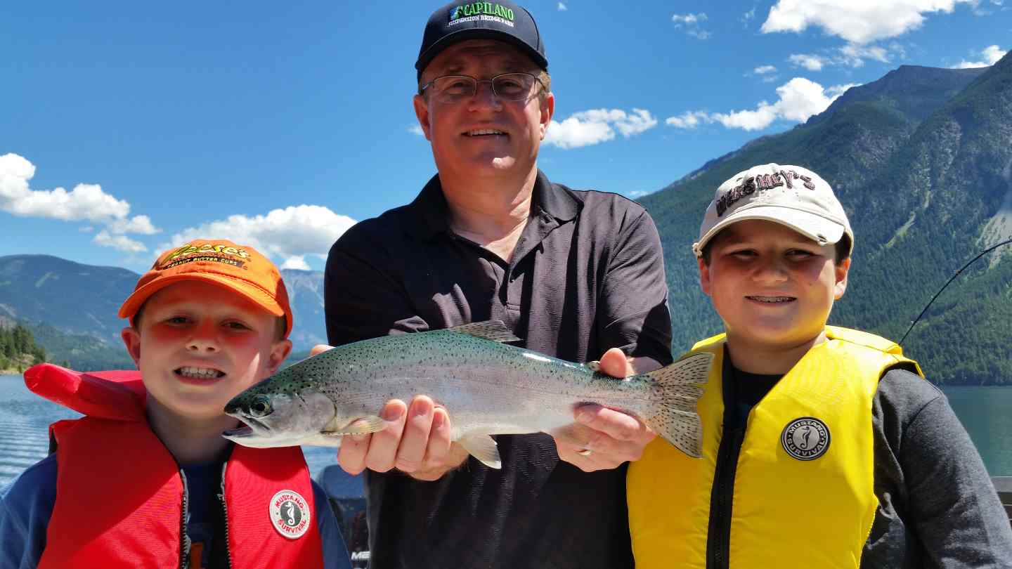Family fishing vacations in whistler british columbia canada for Family fishing boats