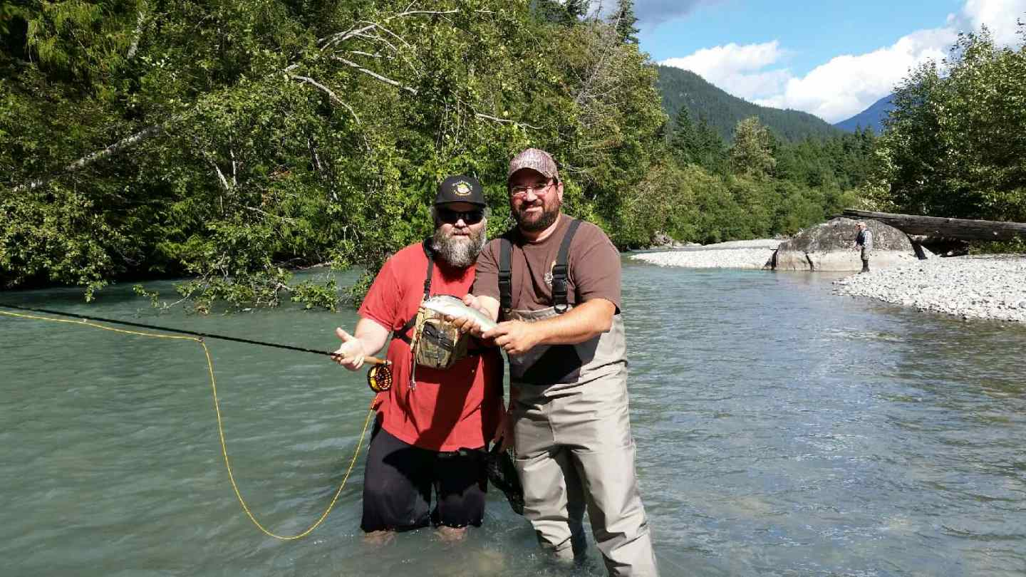 Fly fishing the birkenhead river pemberton bc canada for River fly fishing