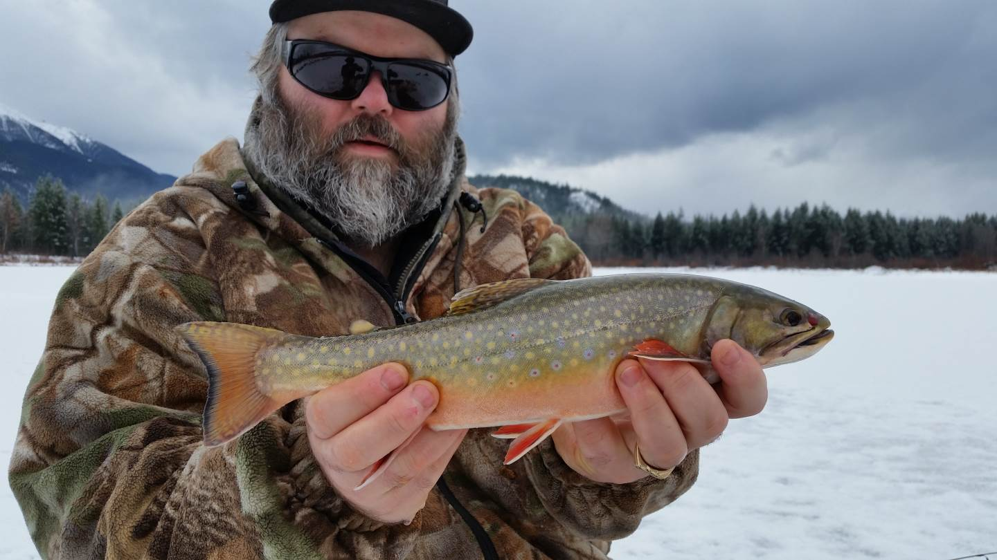 Best brook trout ice fishing in british columbia canada for Ice fishing canada