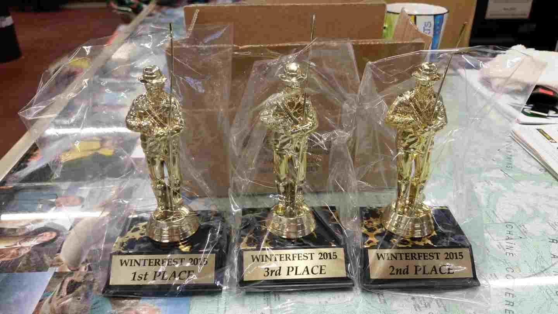 2015 Pemberton Winterfest Trophies