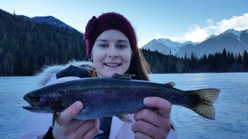 Ice fishing tours and packages in pemberton bc canada for Ice fishing fish finder