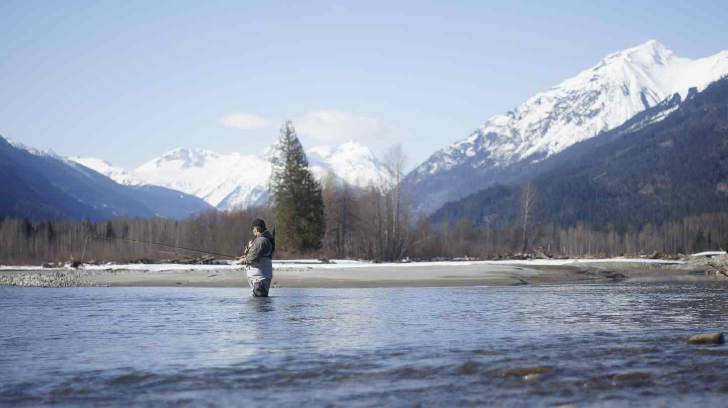 Fly fishing pemberton bc canada upper lillooet river for Fly in fishing canada