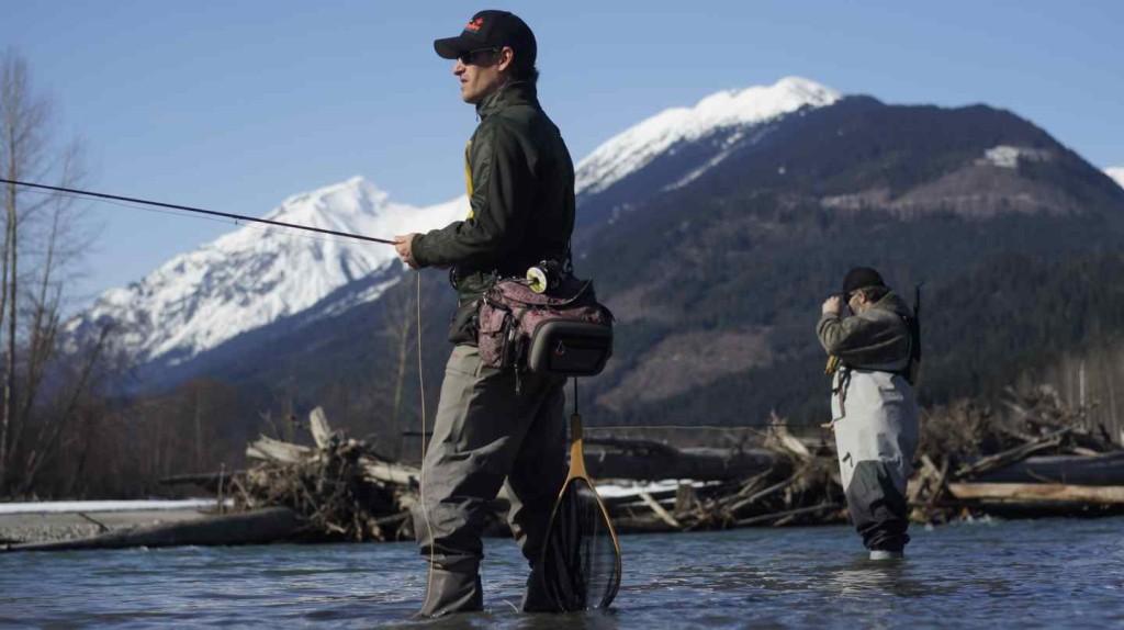 Fly fishing pemberton bc canada upper lillooet river for Fishing spots finder
