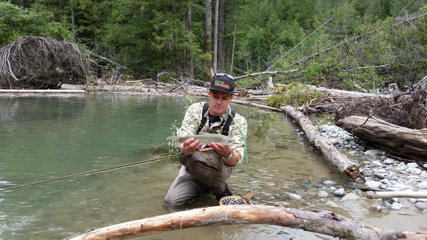 Fly fishing tours in whistler and pemberton bc canada for Fly fishing vacation packages