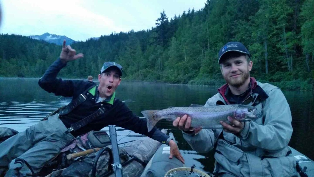 Fly fishing lakes in whistler and pemberton british columbia for Fly fishing british columbia