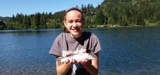 Nita Lake fishing
