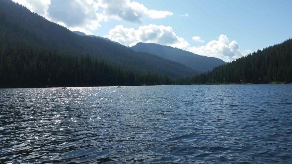 Madley lake in Whistler BC