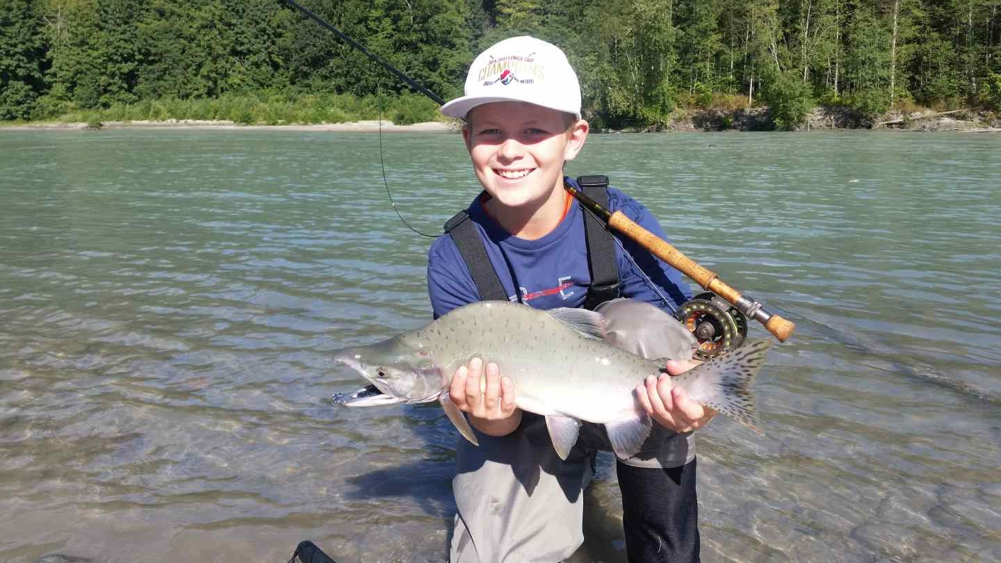 Squamish river pink salmon fishing report 2015 for Salmon river fishing reports