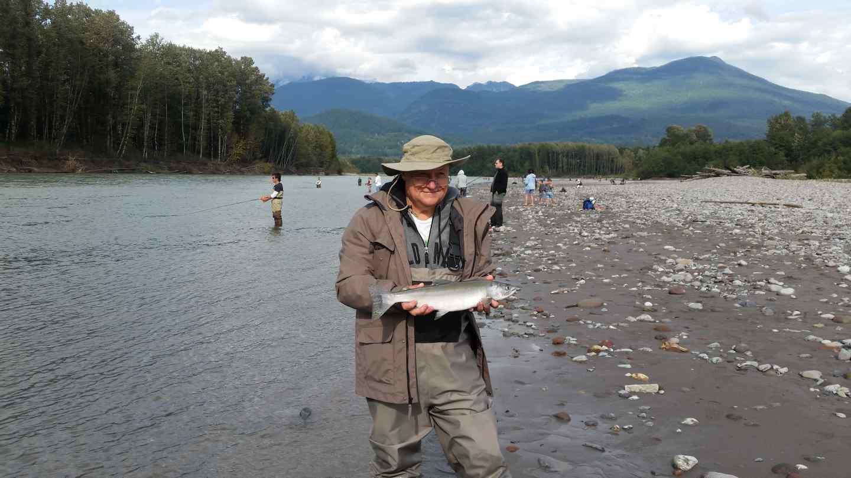 Pink salmon fishing bc fishing reports pemberton fish for Fishing spots finder