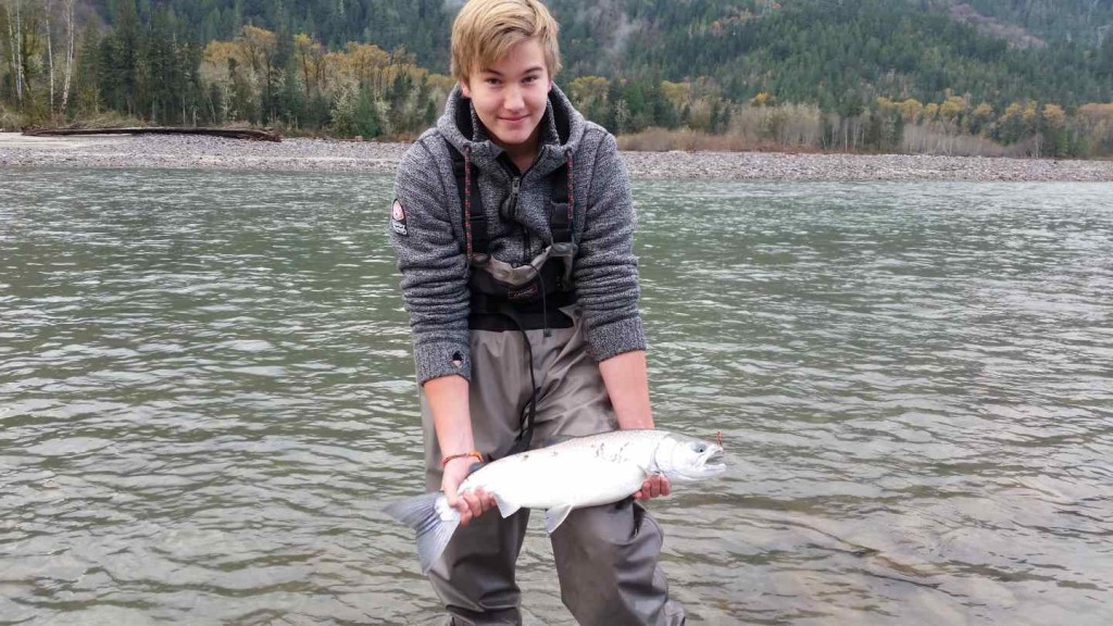 Fly Fishing Coho Salmon in Canada