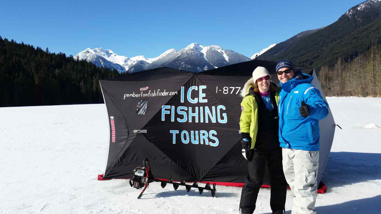 Ice fishing report blackwater lake march 2016 for Fishing trips in canada