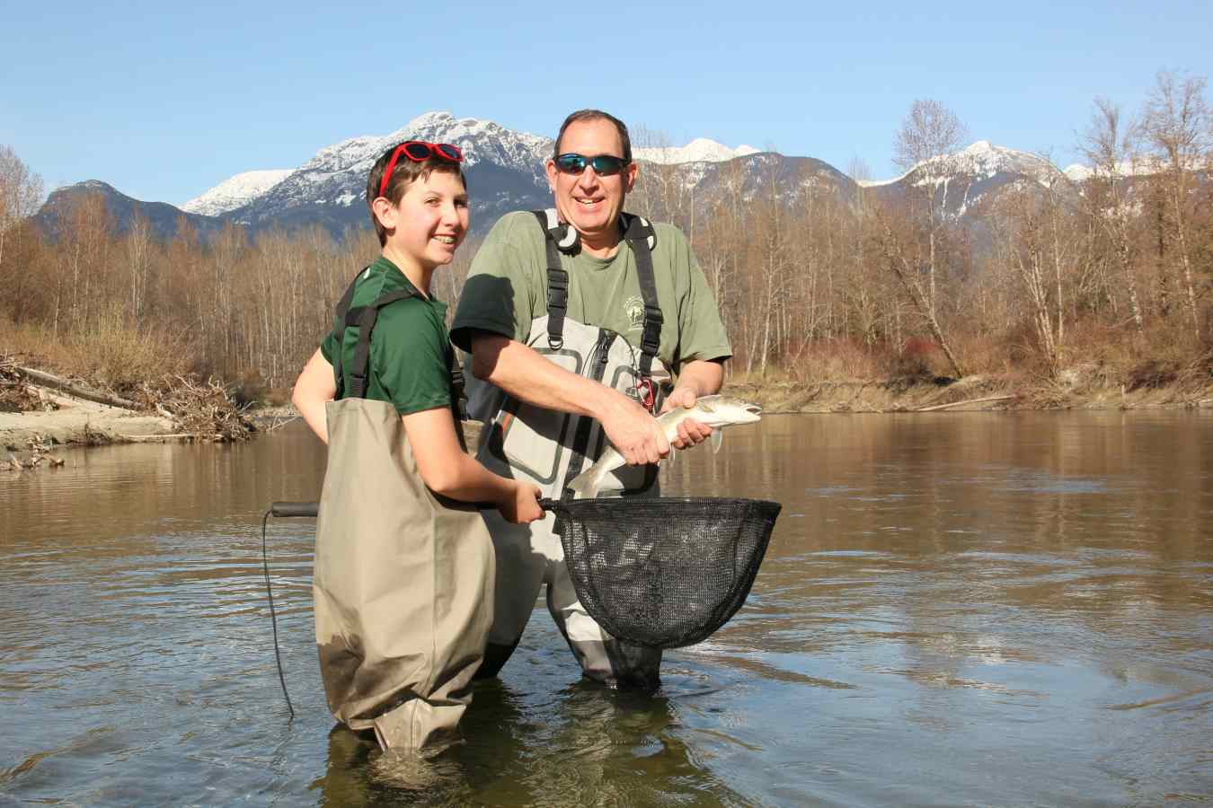 Pemberton whistler bc fishing reports april 2016 for Father son fishing