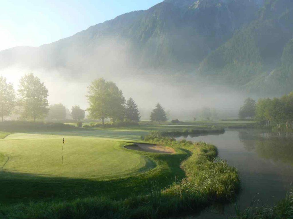 Golfing in Whistler BC
