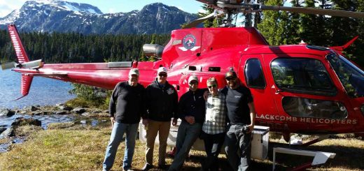 Helicopter fishing and Golf Packages in Pemberton British Columbia
