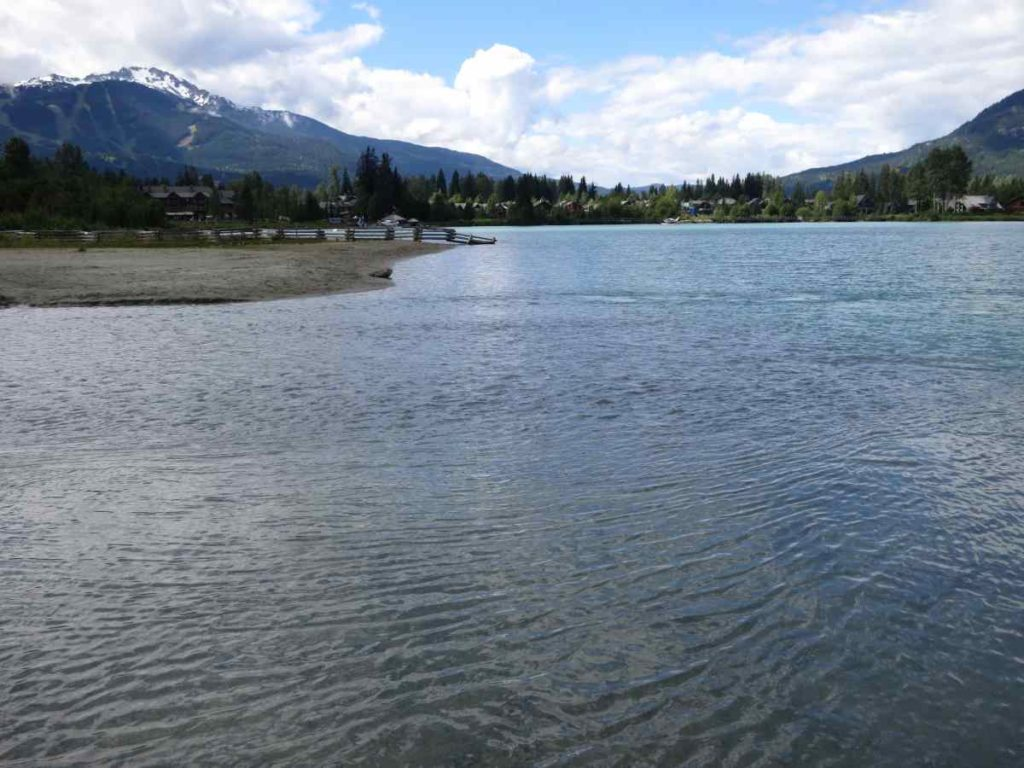 Trout fly fishing green lake in whistler bc canada for Green mountain reservoir fishing