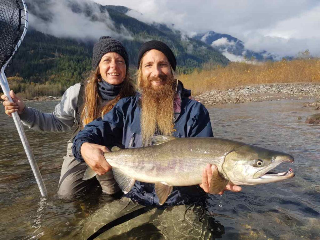 Best salmon fly fishing in canada squamish british columbia for Best fly fishing