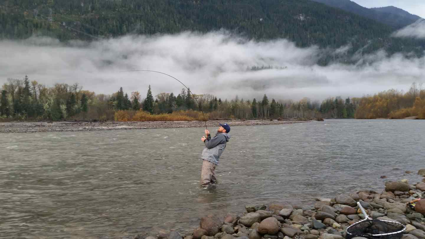 Best salmon fly fishing in canada squamish british columbia for Best fly fishing in us