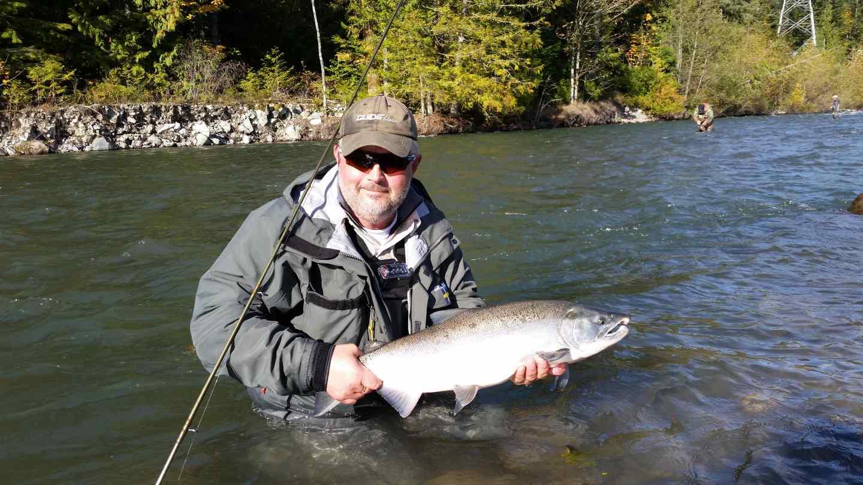 Squamish bc fishing reports chum and coho salmon fly fishing for Fly fishing for salmon