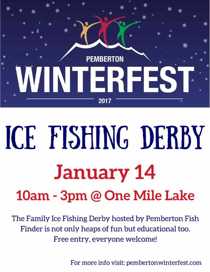 Pemberton Winterfest 2017 Ice Fishing Derby