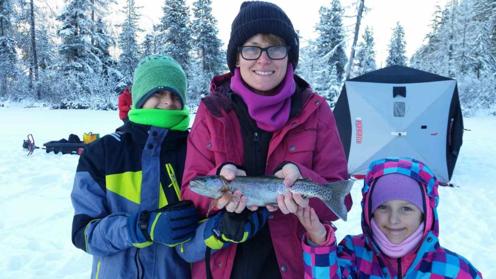fun things to do in Whistler BC during winter Ice Fishing