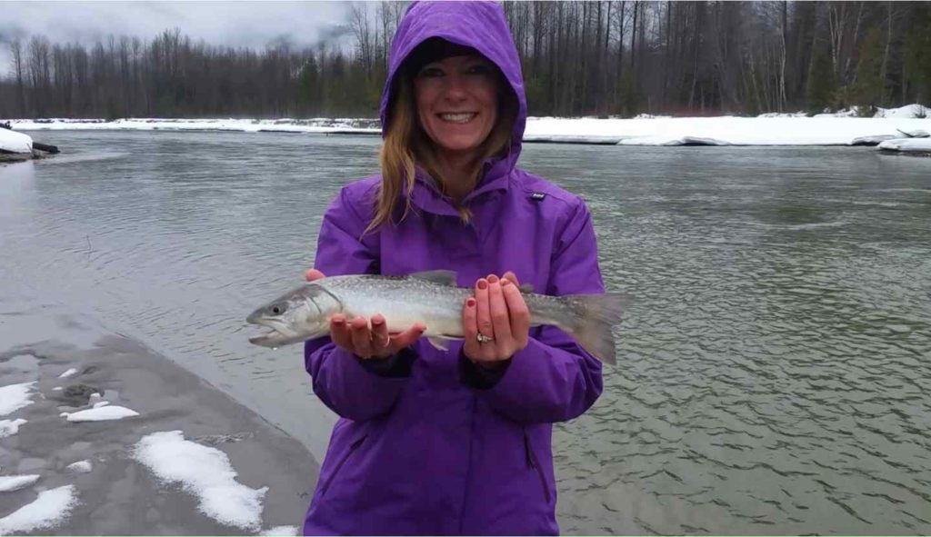 River fishing trips in Canada
