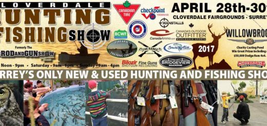 Pemberton fish finder is at the cloverdale hunting and for Hunting and fishing show