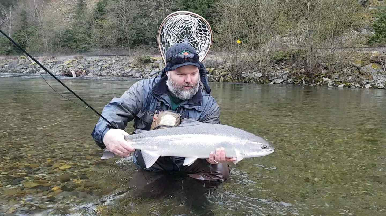 Steelhead fly fishing trips in squamish bc canada for Steelhead fly fishing