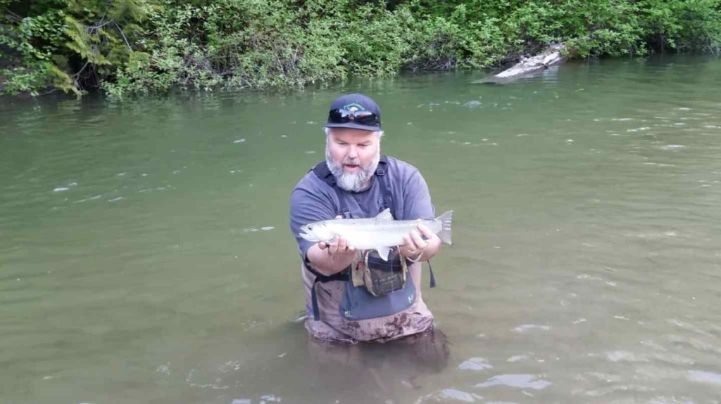Birkenhead River Fly Fishing in Pemberton BC at its best