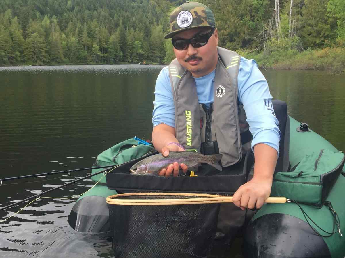 Fly fishing trout in bc bc fishing reports pemberton for Trouts fly fishing reports