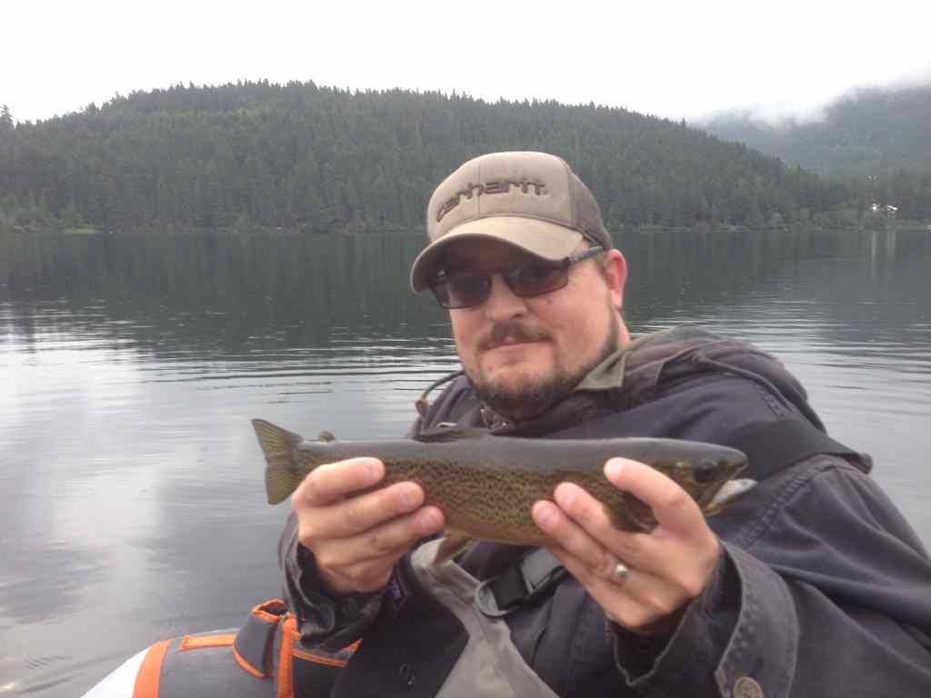 Lake fishing in Whistler BC