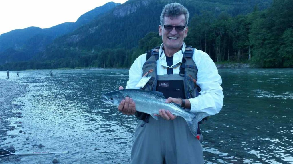 BC Pink Salmon fly fishing