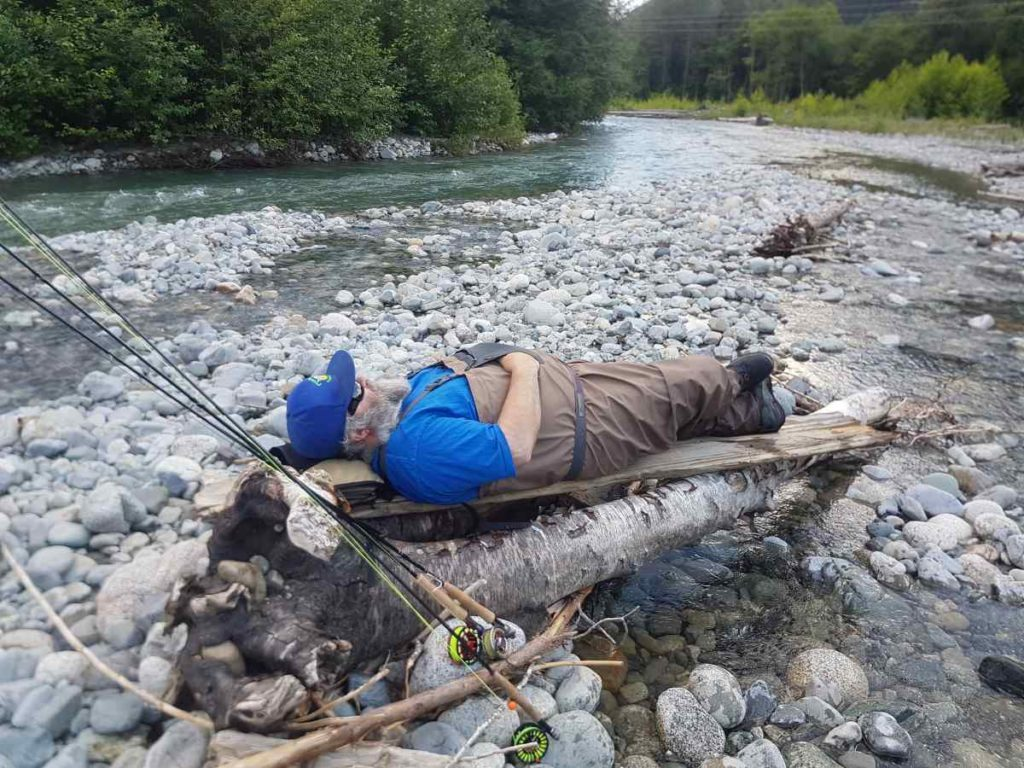 Found a comfy spot on the River