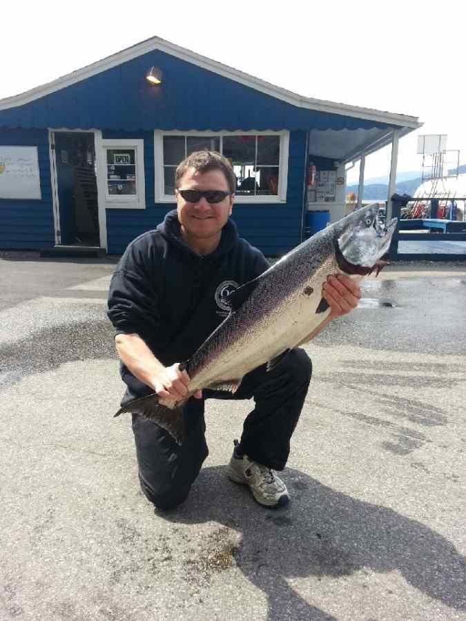 Salmon fishing Trips Vancouver BC