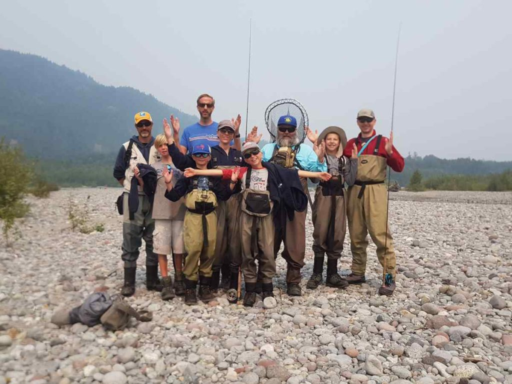 Pink salmon fishing trips in squamish british columbia canada for Best canadian fishing trips