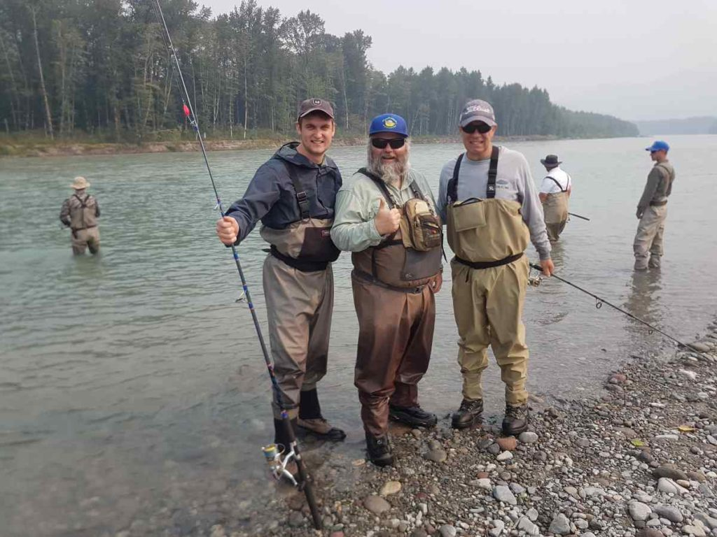 Canada Pink Salmon fishing