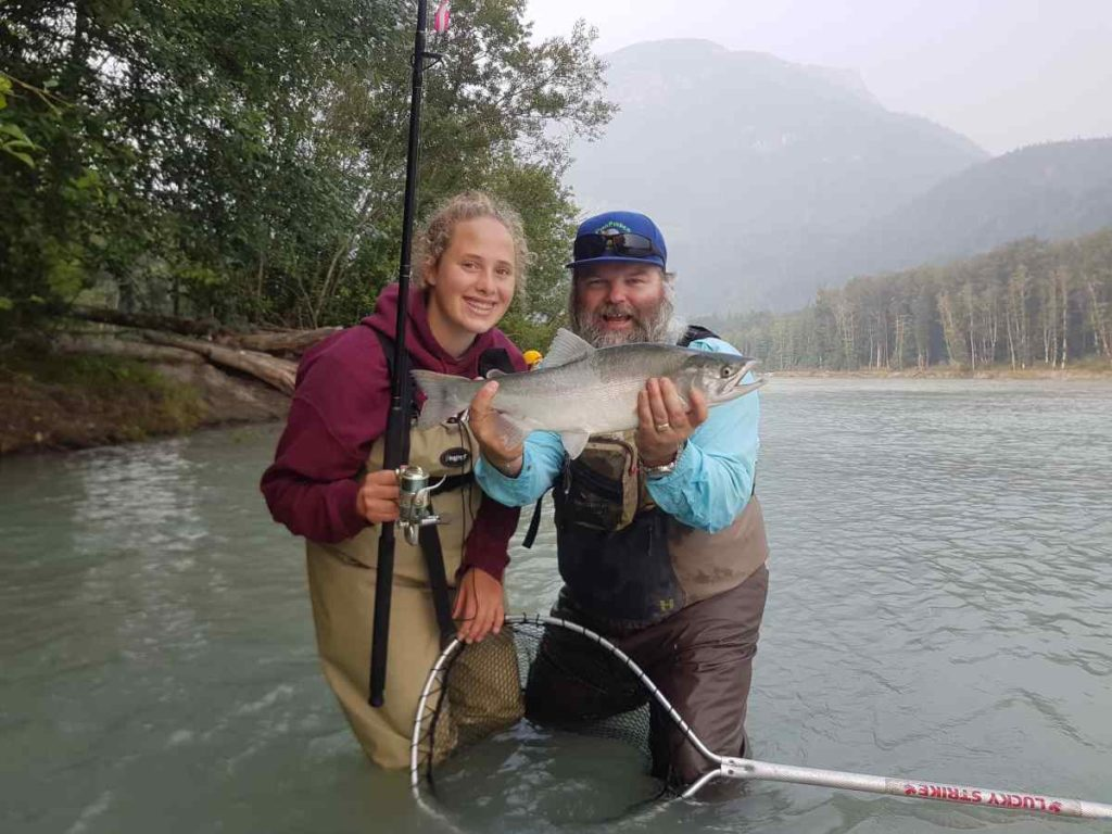 Fishing in Squamish