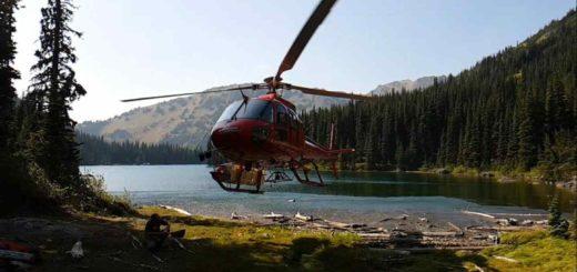A fun thing to do in British Columbia Heli Fishing trips in Canada