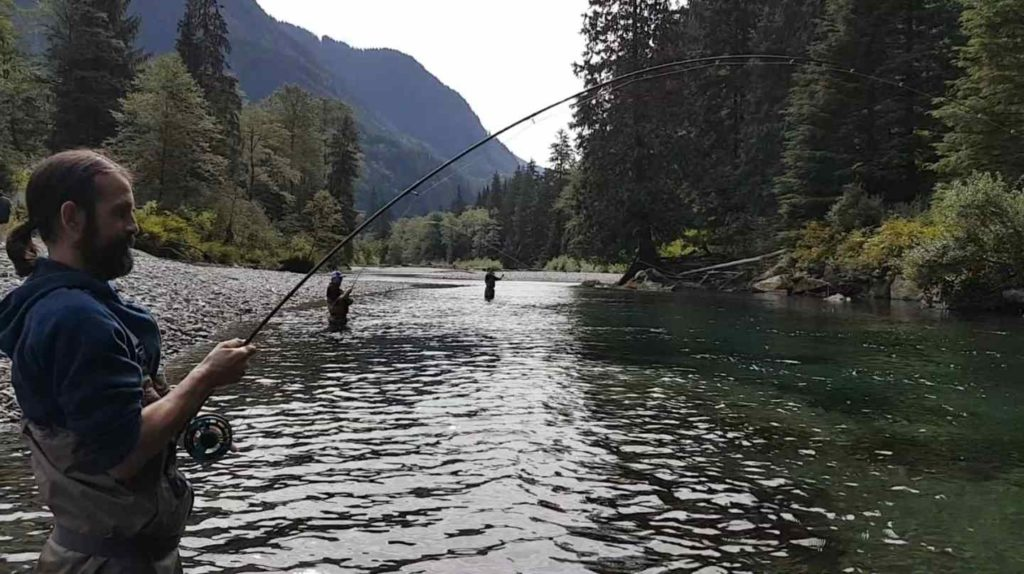 It's Heli fishing season in beautiful British Columbia Canada