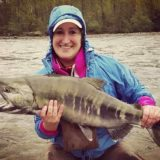 Fly fishing for Chum Salmon in BC