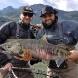 Best Chum Salmon fly fishing in BC