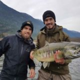 Fly fishing in Canada for Salmon with Henrik Zetterberg and Jonathan Ericsson